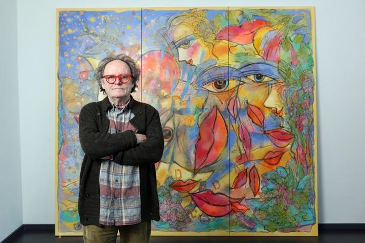 in AIDA gratuliert dem Kussmunderfinder zum Geburtstag / Feliks Büttner wird 75 Jahre alt