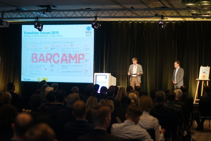 in Franchise-Forum 2015 in neuem Gewand / Die Teilnehmer bestimmten das Programm (FOTO)