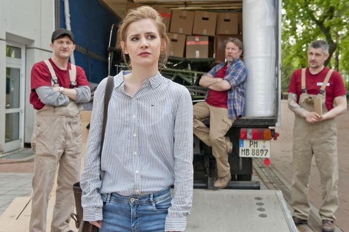 """in """"Lotta & der dicke Brocken"""": Josefine Preuß dreht wieder für das ZDF (FOTO)"""