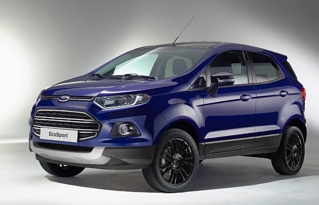 in Ford EcoSport: In vielen Details verbessert und künftig auch als sportlicher EcoSport S erhältlich (FOTO)