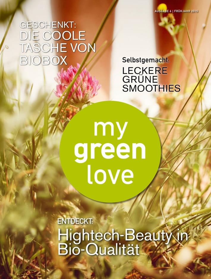 in my green love  - der rote Teppich für grüne Marken / Herbstausgabe erscheint am 1. Oktober in der GALA