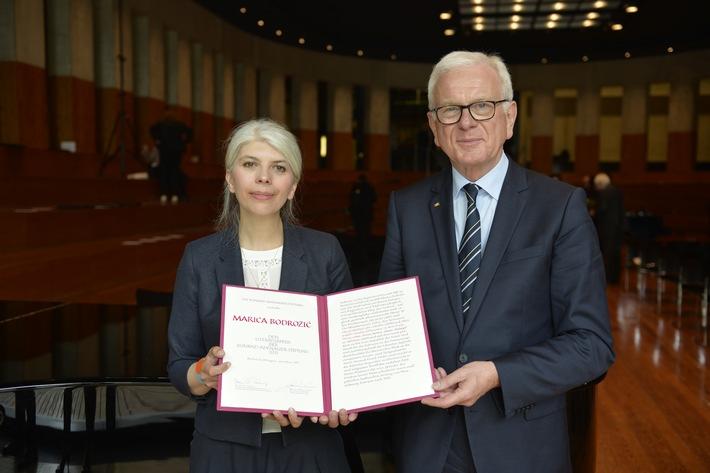 in Marica Bodrozic mit dem Adenauer-Literaturpreis ausgezeichnet (FOTO)