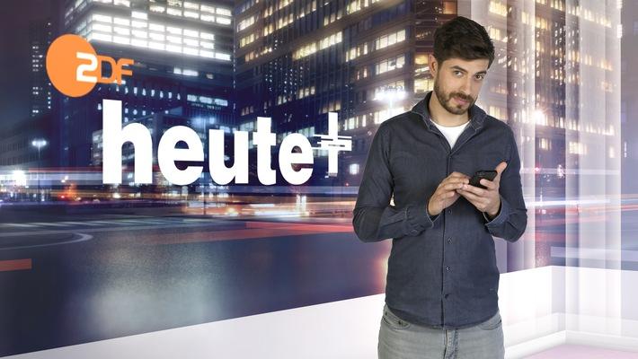 """in Nachrichten neu denken und an neue Nutzer bringen: """"heute+"""" startet am Montag zuerst online und um Mitternacht im ZDF (FOTO)"""