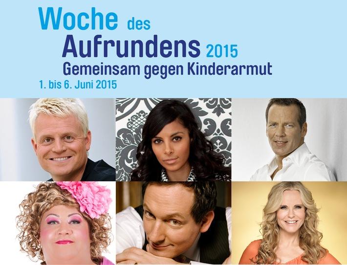 in Deutschlands größte Prominentenaktion gegen Kinderarmut