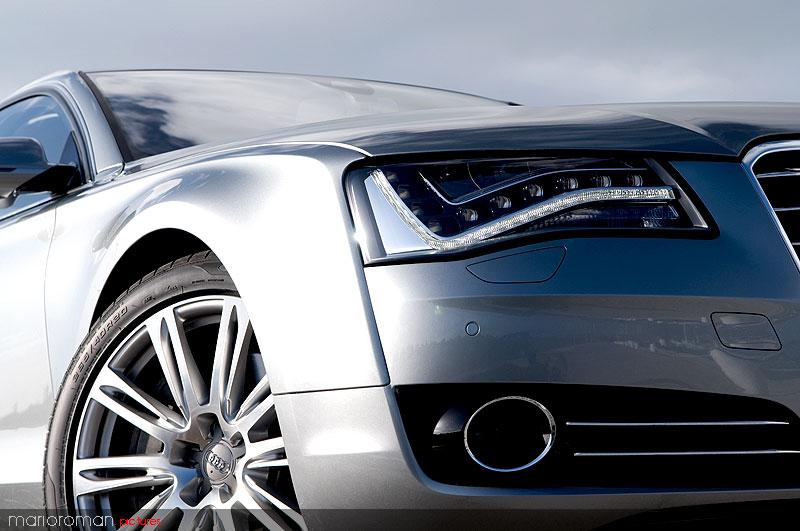 Audi A8 42-2010 7125 in Kurz angefahren : Audi A8 4,2 FSI | Des Transporters neue Kutsche