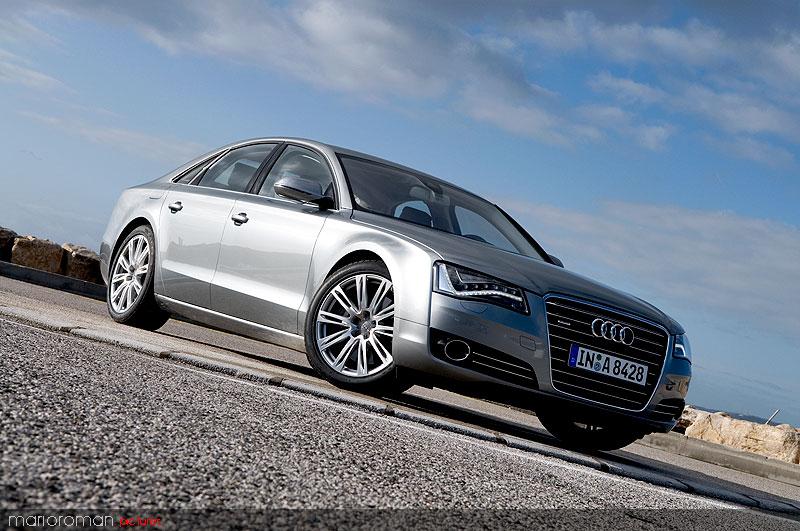Audi A8 42-2010 7138 in Kurz angefahren : Audi A8 4,2 FSI | Des Transporters neue Kutsche