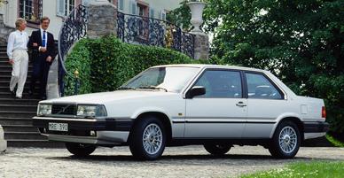 Volvo780 3 in Luxus-Coupé Volvo 780 feiert 25-jähriges Jubiläum