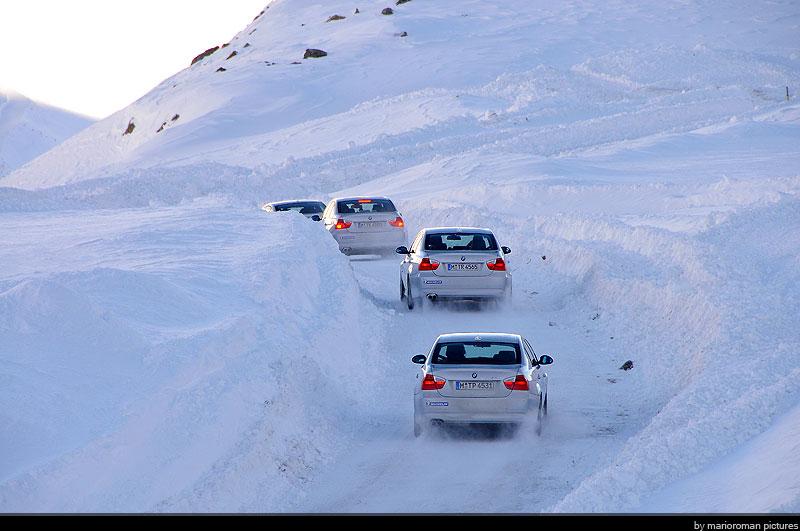 08-12-soelden D2 0184 in Schneetreiben Teil 1: BMW Fahrertraining in Sölden