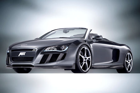 Abt Audi R8 V10 Spyder 1 in Abt Audi R8 V10 Spyder: Ein Hurrikan auf der Straße