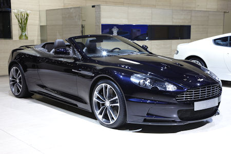 Aston Martin DBS UB 2010 Limited Edition 1 in Aston Martin DBS UB-2010 Limited Edition: Vom großen Boss kreiert