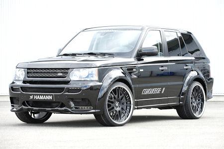 Hamann Conqueror II Range Rover Sport 1 in Hamann Range Rover Sport Conqueror II: Der Eroberer begieriger Blicke