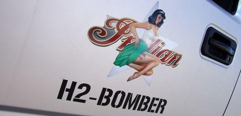 Hummer5 in GeigerCars: Hummer mit Kettenantrieb