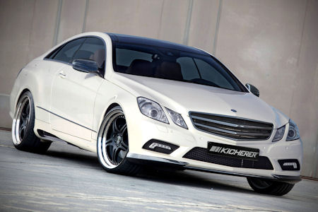 Kicherer Mercedes E 50 Performance Coupe 1 in Kicherer Mercedes E 50 Performance Coupé: Der elegante Dynamiker