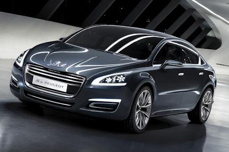 Peugeot 5 1 in 5 by Peugeot: Luxus-Studie geht als Peugeot 508 in Serie