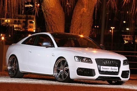 Senner Audi S5 White Beast 1 in Senner Audi S5 White Beast: Die Wandlung zum weißen Biest