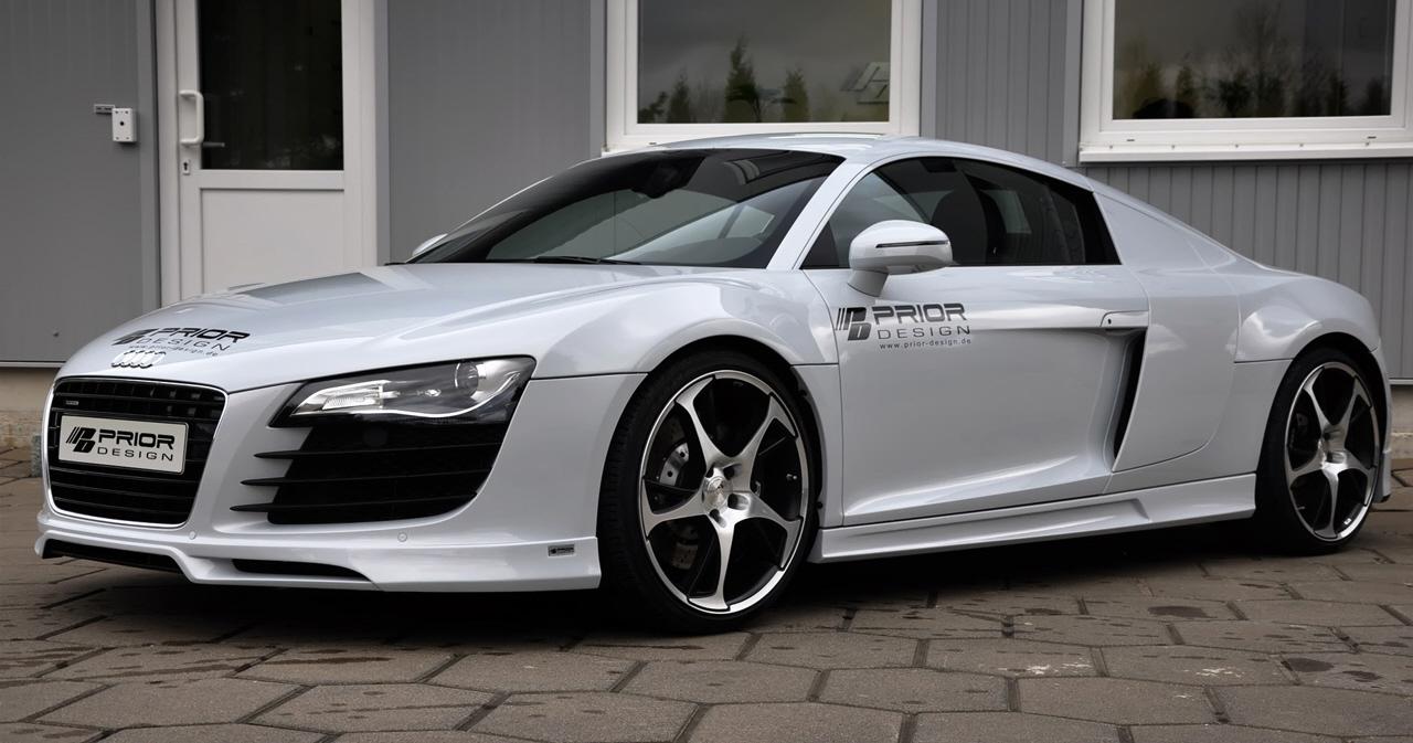 Prior1 in Audi R8 im edlen Zwirn!