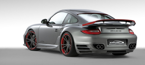 SpeedART BTR-II 650 EVO 4 RGB in speedART BTR-II 650 EVO auf Basis Porsche 997 Turbo