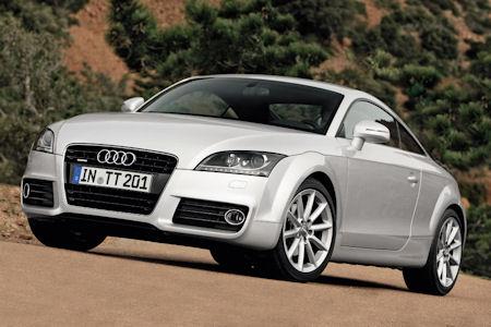Audi TT Facelift Coupe 3 in Audi TT: Sportliches Facelift mit höchster Effizienz