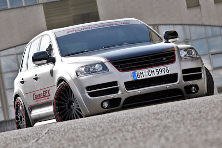 CoverEFX VW Touareg W12 Sport Edition 1 in CoverEFX VW Touareg W12 Sport Edition: Mit 500 PS heiß gemacht