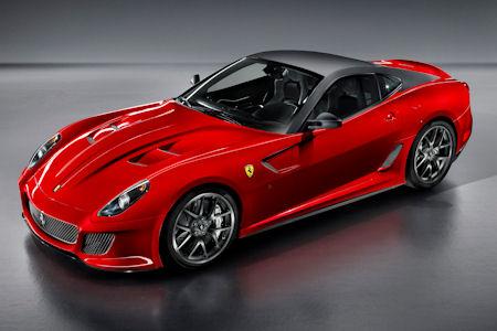 Ferrari 599 GTO 1 in Ferrari 599 GTO: Der schnellste Serien-Ferrari aller Zeiten