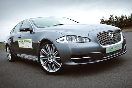 Jaguar XJ Limo Green Hybrid 1 in