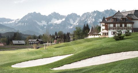KIZ Golf Resortansicht 02 in Luxushotel Arosa Kitzbühel in neuem Glanz