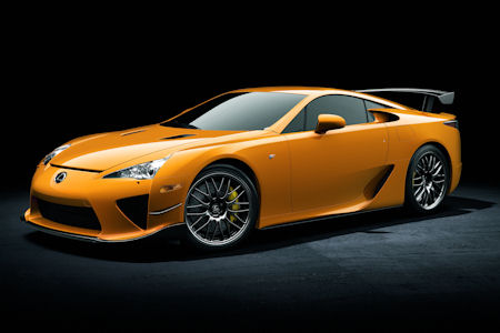 Lexus LFA Nuerburgring Performance Paket 1 in