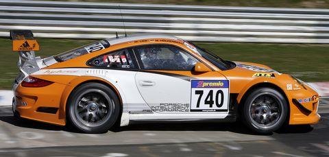 M10 0706 in Porsche 911 GT3 R Hybrid: Nordschleifen-Premiere