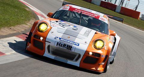 M10 0708 in Porsche 911 GT3 R Hybrid: Nordschleifen-Premiere