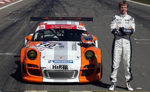 M10 0717 in Porsche 911 GT3 R Hybrid: Nordschleifen-Premiere
