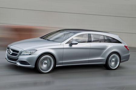 Mercedes Concept Shooting Break 1 in Mercedes Concept Shooting Break: Die Zukunft des Coupés mit Steilheck
