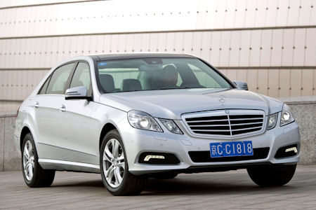 Mercedes E Klasse L 1 in Mercedes E-Klasse L: Die neue Langversion extra für China