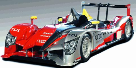 Audir15tdi in Audi R15 TDI in neuem Outfit