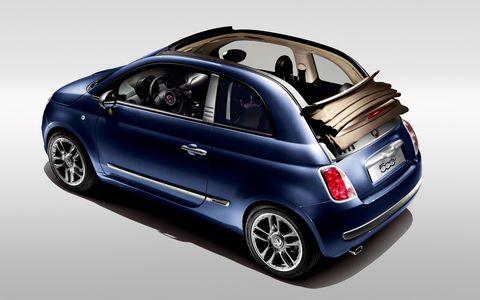 Diesel1 in Italiener in Jeans: Fiat 500C by Diesel