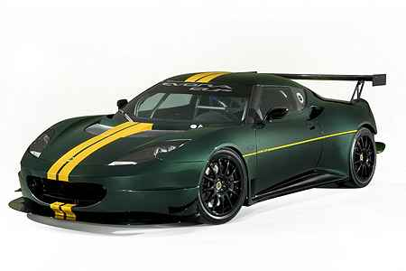 Lotus Evora Cup 001 in Lotus Evora Cup: Mittelmotor-Leichtbau trifft auf 400 PS