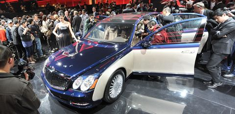 Maybach1 in Daimler frischt den Maybach auf