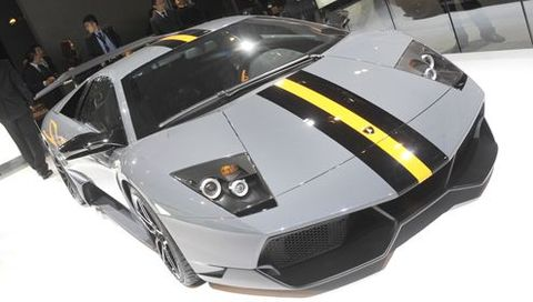 Murcielago Superveloce in Video: Lamborghini Murciélago LP 670-4 SuperVeloce