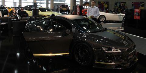 Razor3 in Weltpremiere des PPI Audi R8 Razor GTR 10 Edition