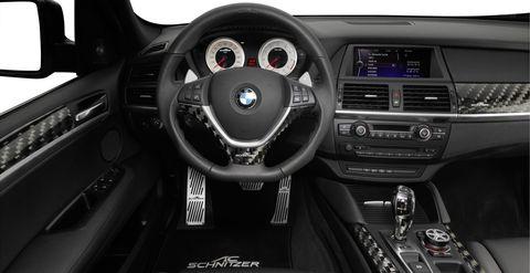 ACS X6 Interior 01 72 in Der AC Schnitzer X6 M hat das Motorsport-Gen