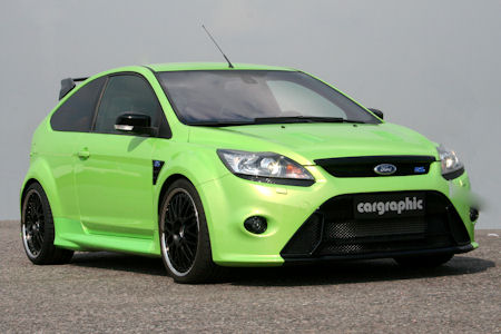 Cargraphic Ford Focus RS 1 in