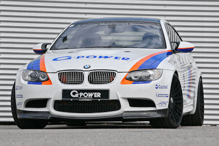 G Power BMW M3 Tornado CS 1 in G-Power BMW M3 Tornado CS: Pure Rennsporttechnik zivil verpackt
