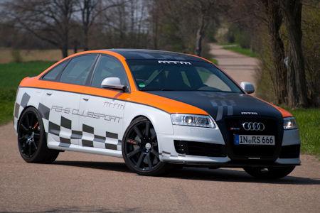 MTM Audi RS6 Clubsport 1 in MTM Audi RS6 Clubsport: Zu einem echten Biest gewandelt