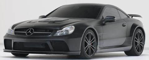 B10aa222 in Geiler Keil: Brabus pimpt den SL 65 AMG Black Series auf 800 PS