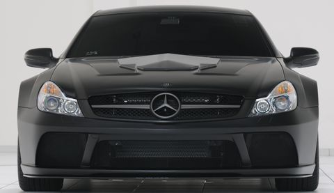 B10aa228 in Geiler Keil: Brabus pimpt den SL 65 AMG Black Series auf 800 PS