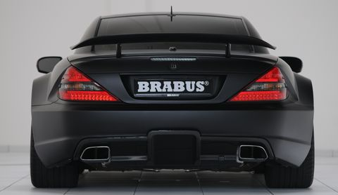 B10aa230 in Geiler Keil: Brabus pimpt den SL 65 AMG Black Series auf 800 PS
