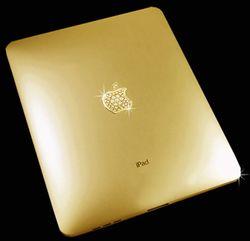 Ipad11 in Luxus pur: Goldenes iPad für 150.000,- Euro