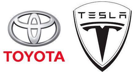 Tesla Toyota in Toyota steigt bei Tesla ein: Gemeinsame Entwicklung von Elektroautos