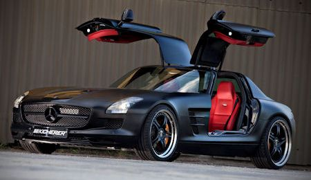 Kicherer Mercedes SLS AMG Supersport Edition Black 2 in Kicherer SLS Supersport Edition Black: Starke Passion in Schwarz