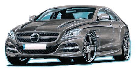 Lorinser Mercedes CLS Klasse Pc in