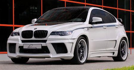 Lumma BMW X6 2 in Lumma BMW X6: Rennsportfeeling im XXL-Format